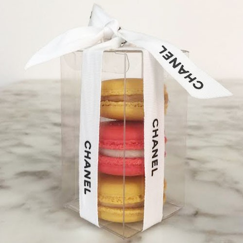 Clear Macaron Boxes for 3($1.60/pc x 25 units)