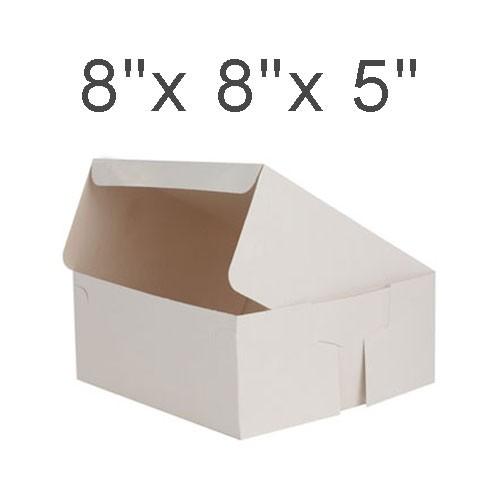 """Cake Boxes - 8"""" x 8"""" x 5"""" ($2.70/pc x 25 units)"""