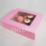 12 Pink Cupcake Window Box ($4.30/pc x 25 units)
