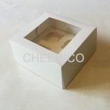 4 Cupcake Window Box ( $2.30/pc x 25 units)